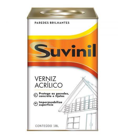 Verniz Acrilico Incolor Suvinil 18L