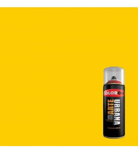Tinta Spray Fosco Arte Urbana Amarelo Sol 400ml - Colorgin
