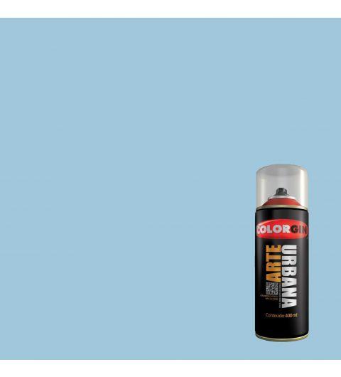 Tinta Spray Fosco Arte Urbana Azul Chuva 400ml - Colorgin