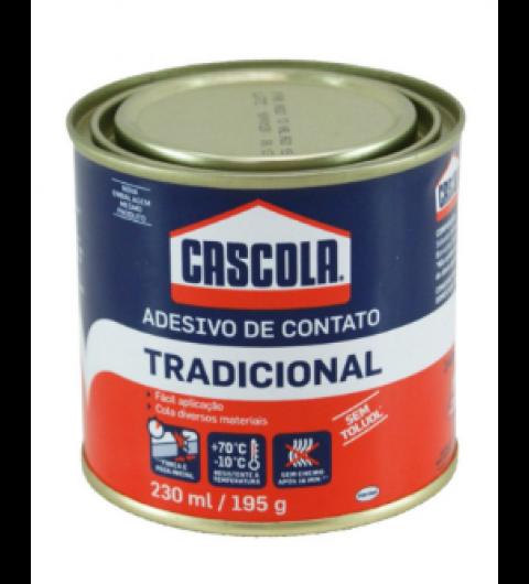 CASCOLA 195G TRADICIONAL SEM TOLUOL