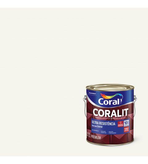 Esmalte Sintético Coralit Ultra Resist Alto Brilho Transparente 3.6L - Coral