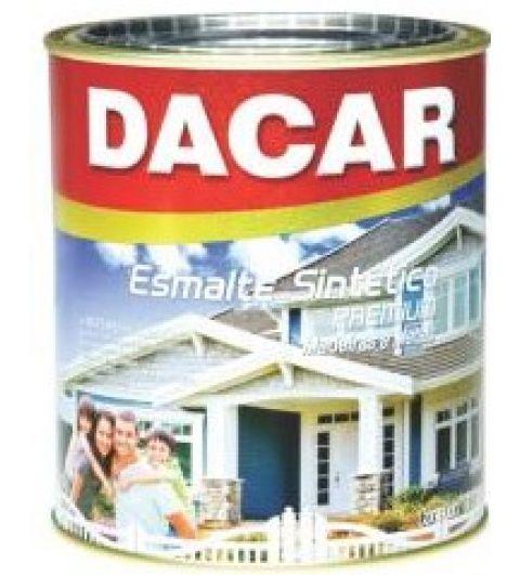 Dacar Esmalte Sint Fosco Preto 0.900L