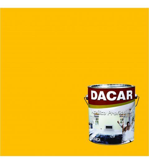 Dacar Profissional Acrilico Fosco Amarelo Ouro 3.6L