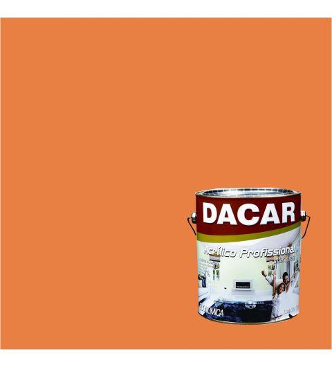 Dacar Profissional Acrilico Fosco Tangerina 3.6L