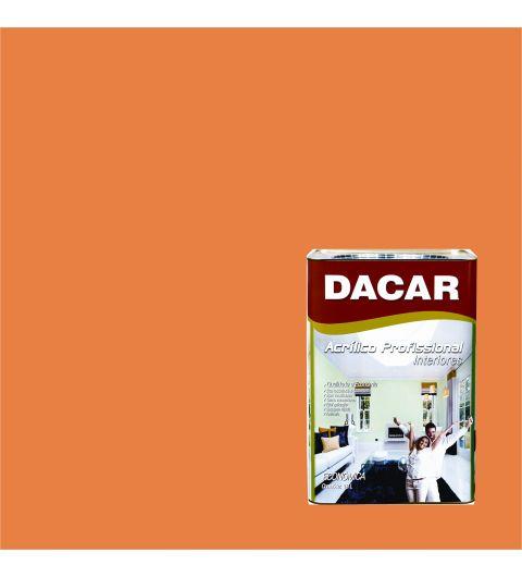 Dacar Profissional Acrilico Fosco Tangerina 18L