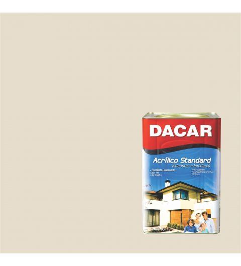 Dacar Acrilico Standard Fosco Palha 18L