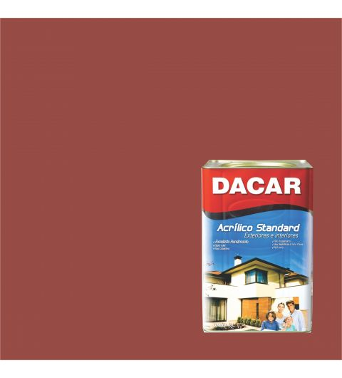 Dacar Acrilico Standard Fosco Tomate Seco 18L