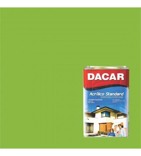 Dacar Acrilico Standard Fosco Verde Tropical 18L