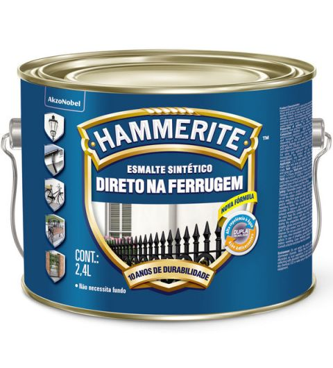 Hammerite Esmalte Brilhante Branco 2.4L