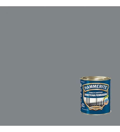 Hammerite Esmalte Brilhante Cinza 0.800L