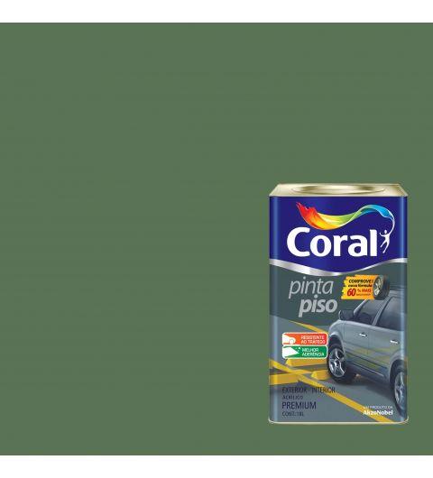 Tinta Piso Verde Quadra 18L - Coral