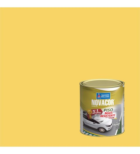 Tinta Piso Amarelo Demarcacao 900ml - Novacor