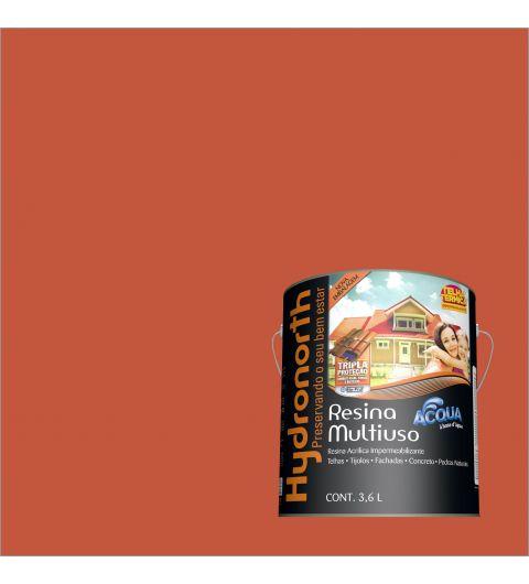 Resina Brilhante Multiuso Acqua Cerâmica Onix 3.6L - Hydronorth