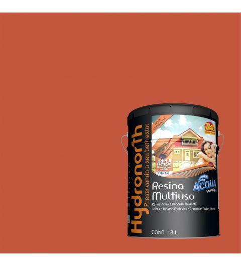 Resina Brilhante Multiuso Acqua Cerâmica Onix 18L - Hydronorth