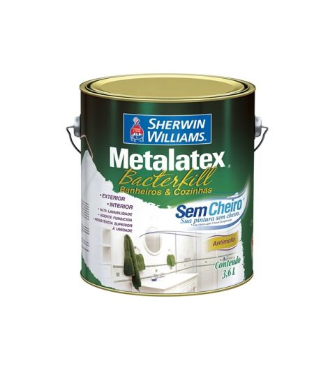Bacterkill Semi Brilho Branco Sherwin Williams 3.6L