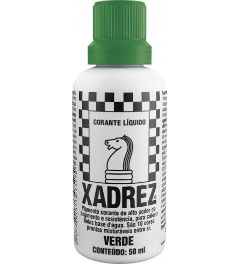 Xadrez Corante Verde