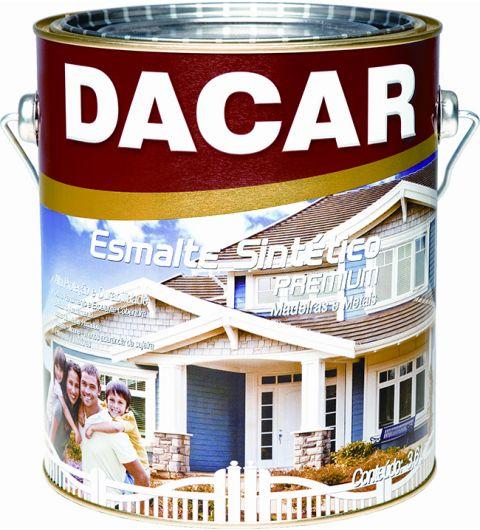 Dacar Esmalte Sint Fosco Preto 3.6L
