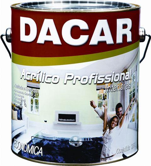 Dacar Profissional  Acrilico Fosco Branco 3.6L