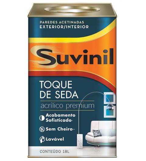 Acrilico Toque De Seda Branco Suvinil 18L
