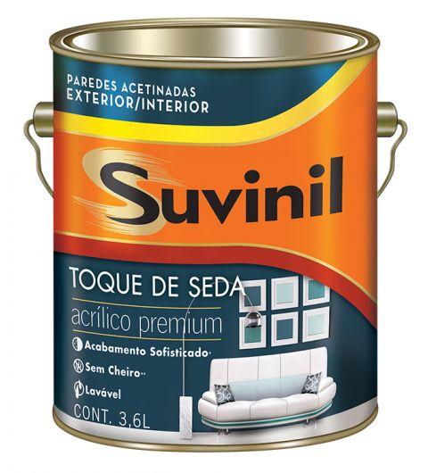Acrilico Toque De Seda Branco Suvinil 3.6L