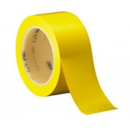 Fita Demarca Solo Amarela 50 mm X 10M  - 3M