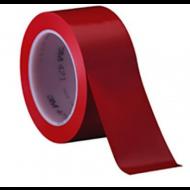 Fita Demarca Solo Vermelha 50mm X 10M  - 3M
