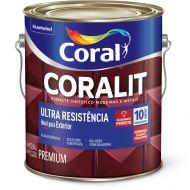 Esmalte Sintético Coralit Ultra Resist Acetinado Areia 3.6L - Coral