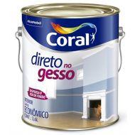 Tinta Para Gesso Branco 3.6L - Coral