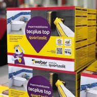Tecplus top 18kg caixa weber