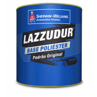 Lazzudur Cinza Steel Metálico Poliéster  0,900ml