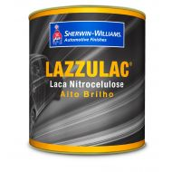 Tinta Laca Lazzulac Preto Fosco 910 900ml - Lazzuril
