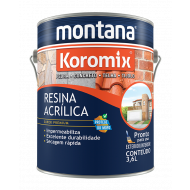 RESINA INCOLOR BRILHANTE 3,6L KOROMIX MONTANA