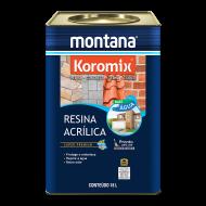 RESINA INCOLOR ÁGUA 18L KOROMIX MONTANA