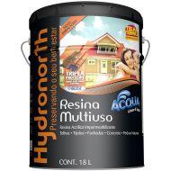 Resina Brilhante Multiuso Acqua Incolor 18L - Hydronorth