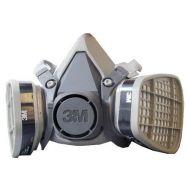 Respirador Com Filtro 6200 Kit Completo  - 3M
