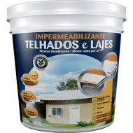 Impermeabilizante para Telhados E Lajes Branco 16Kg - Hydronorth
