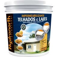 Impermeabilizante para Telhados E Lajes Branco 5Kg - Hydronorth