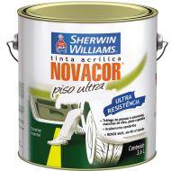 Piso Novacor Ultra Semi Brilho Branco 3.6L